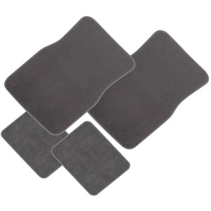 Sperling Gold Series Majestic Plush Carpet 4 Car Mat Set - Grey